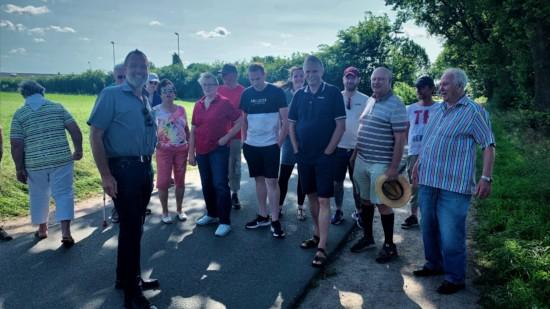 Info Tour in Schwiederstorf - Grambow mit Anwohnern
