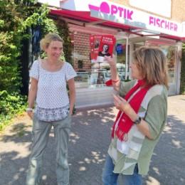 SPD Infostand Hittfeld