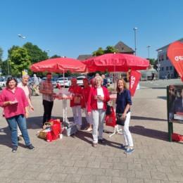 SPD Infostand Meckelfeld