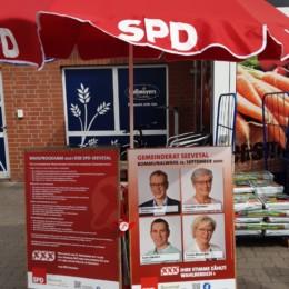 Infostand Over Bullenhausen