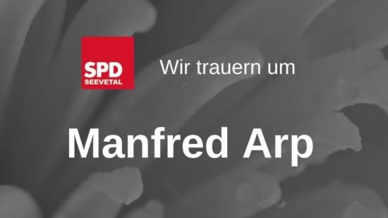 Manfred Arp Trauer