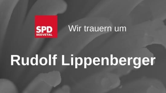 Rudolf Lippenberger Trauer