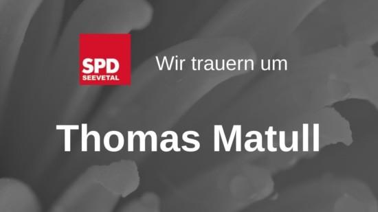 Thomas Matull Trauer