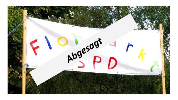 Absage SPD Flohmarkt