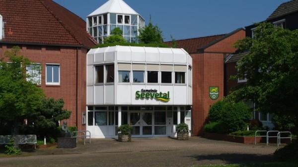 Rathaus der Gemeinde Seevetal in Hittfeld