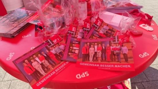 SPD Seevetal Infostand