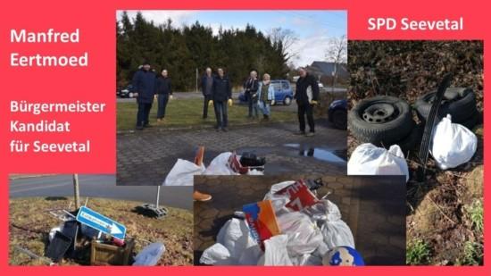 Müll sammeln