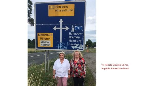 Anschlussstelle Maschen A 39