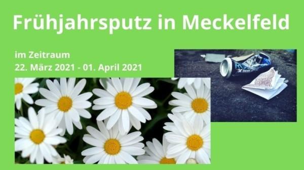 Früjahrsputz in Meckelfeld