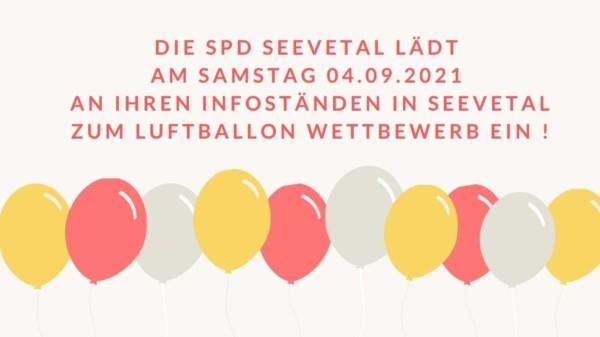 Luftballon-Wettbewerb
