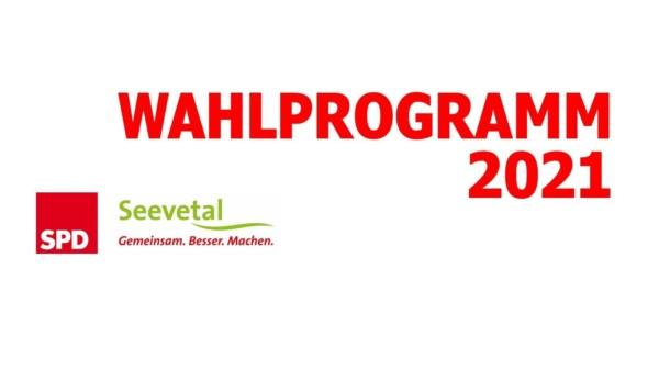 SPD Seevetal Wahlprogramm 2021